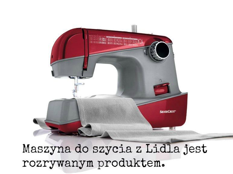 Maszyna do szycia silvecrest front