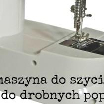Maszyna do szycia mała